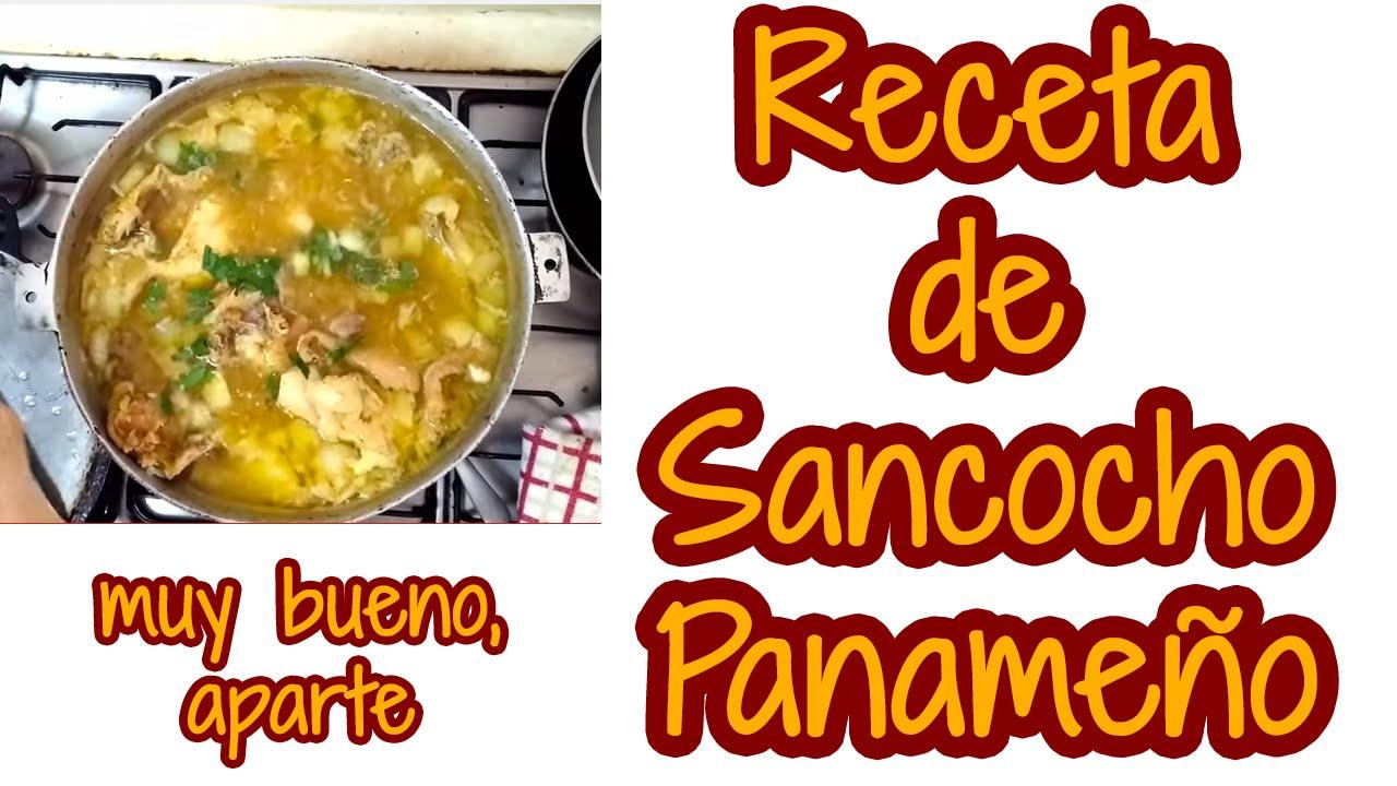 Receta de Sancocho Panameño - Comida panameña - YouTube
