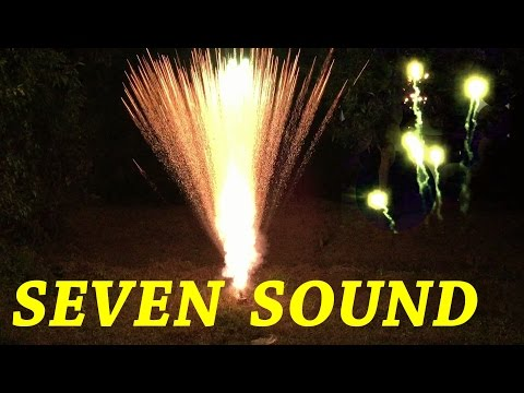 7 Seven Sound Signal Rocket Green - Cock Brand Diwali Cracker Fireworks