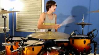 Hillsong United - Freedom Is Here/Shout Unto God (drum cover) - Live From Miami