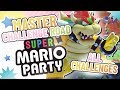 Super Mario Party MASTER Challenge Road All Challenges