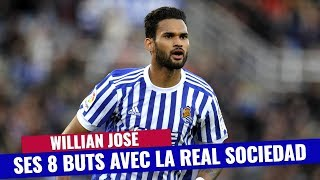 VIDEO: Liga : Les 8 buts de Willian José cette saison, l'attaquant pisté par le FC Barcelone