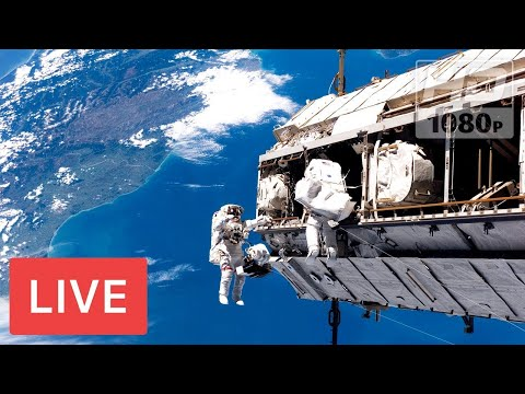 NASA Earth From Space - Earth Viewing cameras ISS feed #Real