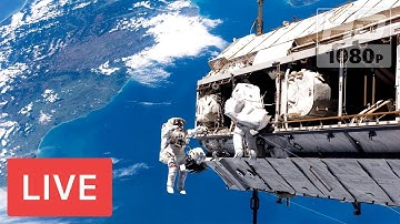 WATCH NASA: Astronaut Spacewalk #RealTimeTracker NASA FEED | 24/7 Earth Viewing cameras