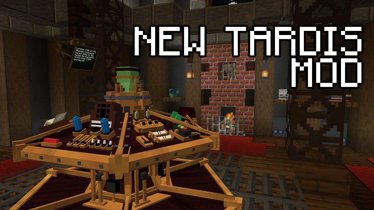 New TARDIS Mod Mods Minecraft CurseForge