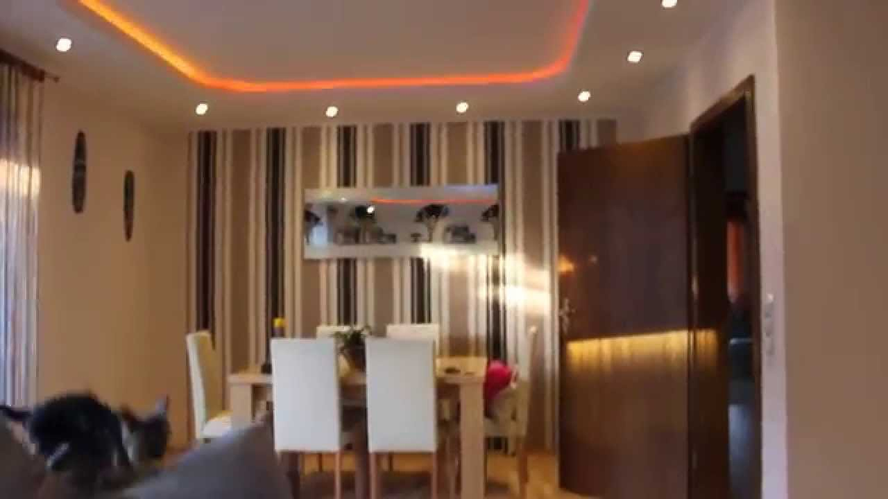 Beleuchtung Im Wohnzimmer | Deckenleuchte Selber Bauen Direktes Und ...