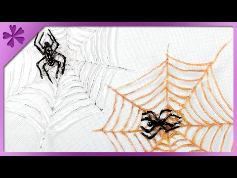 DIY Spider and web made from glue (ENG Subtitles) - Speed up #270