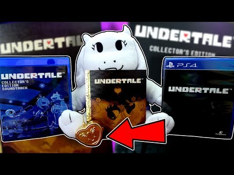 UNDERTALE PS4 COLLECTOR'S EDITION | Undertale Playstion 4 Physical EdItion  Unboxing / Review