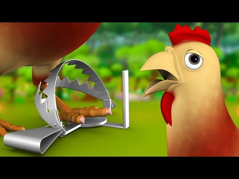 The Goat and The Hen Telugu Story మేక మరియు కోడి నీతి కధ 3D Animated Kids Moral Fairy Tales Stories