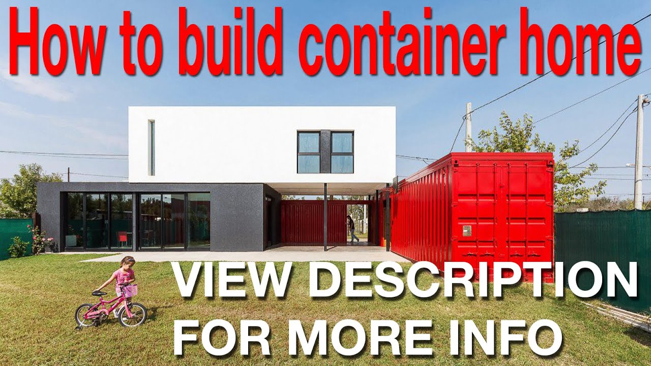 luxury shipping container homes - view description - youtube