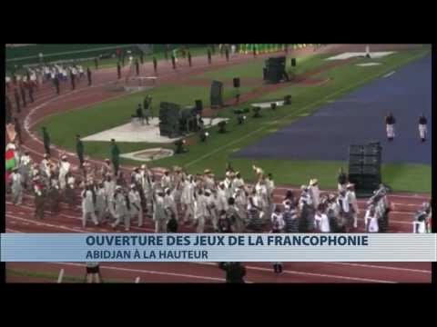 Sports : ouverture des huitièmes jeux de la Francophonie à Abidjan