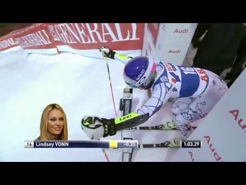 Lindsey Vonn WINS Giant Slalom at Åre