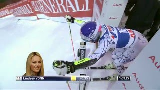 Lindsey Vonn WINS Giant Slalom at Åre
