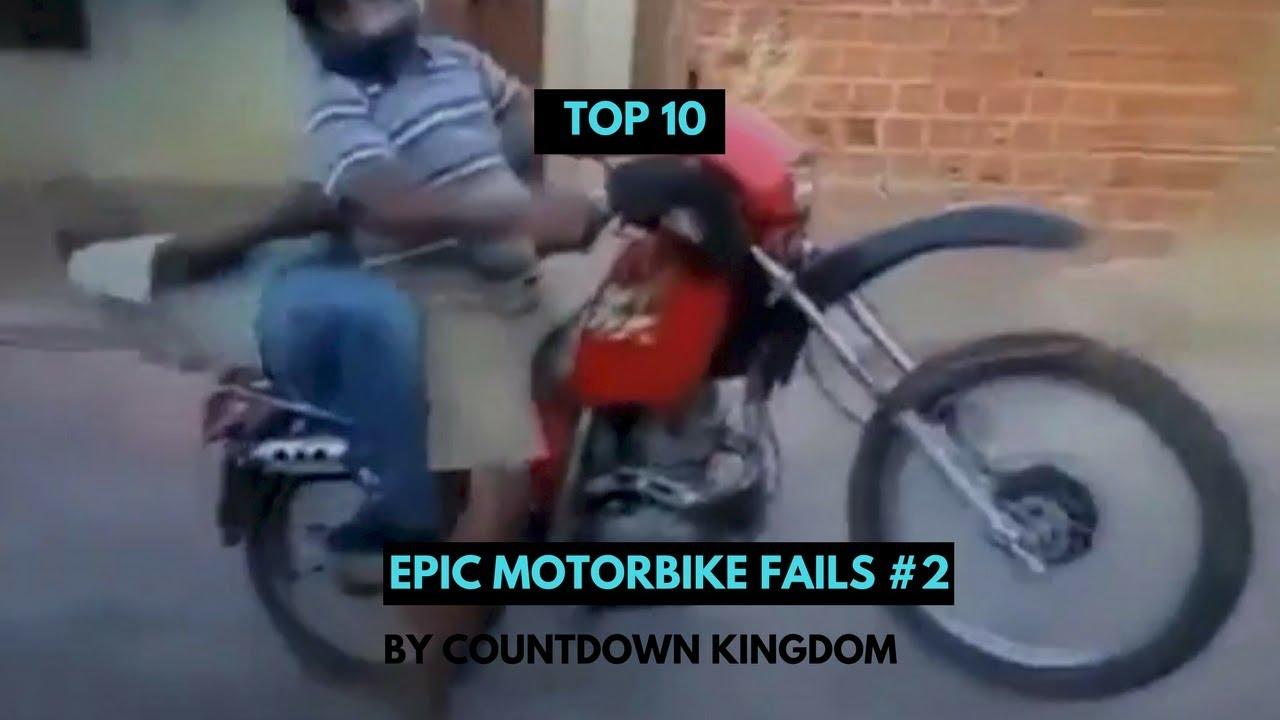 Top 10 Epic Motorbike Fails #2