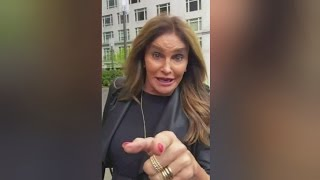 Caitlyn Jenner uses womens bathroom at Donald Trump's hotel