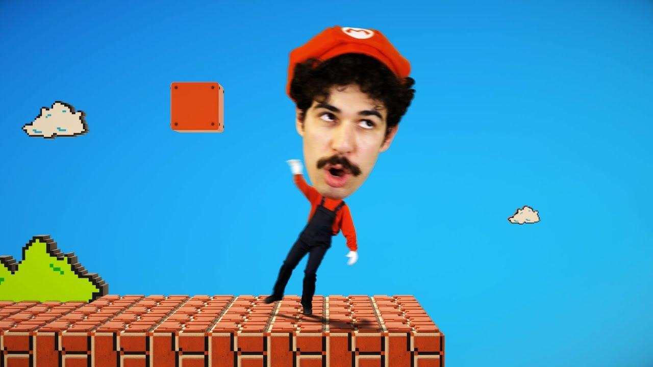 Super Mario BIG HEAD