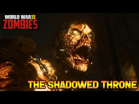 WW2 ZOMBIES - THE SHADOWED THRONE MAIN EASTER EGG HUNT! (Call of Duty WW2 Zombies)