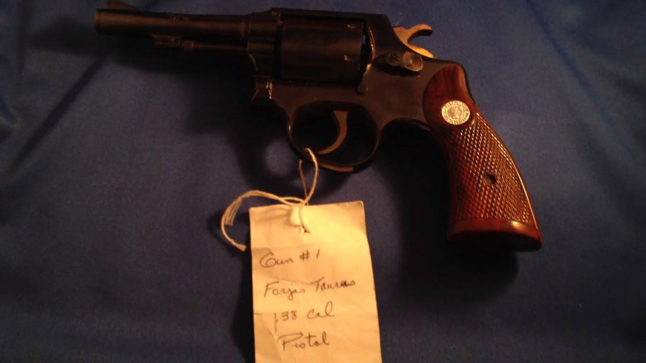 1939 Forjas Taurus  38 Special Revolver