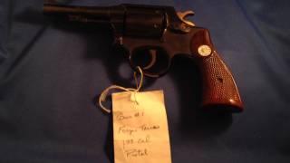 1939 Forjas Taurus .38 Special Revolver