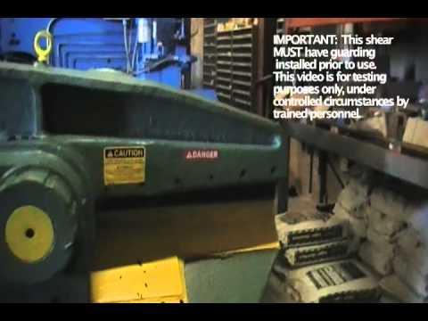 """36"""" Used Lefort S900 Hydraulic Alligator Shear 27371"""