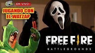 🔴 Jugando Dúos con el Watzap - Free Fire - Echándonos Partidas Chingonas!!