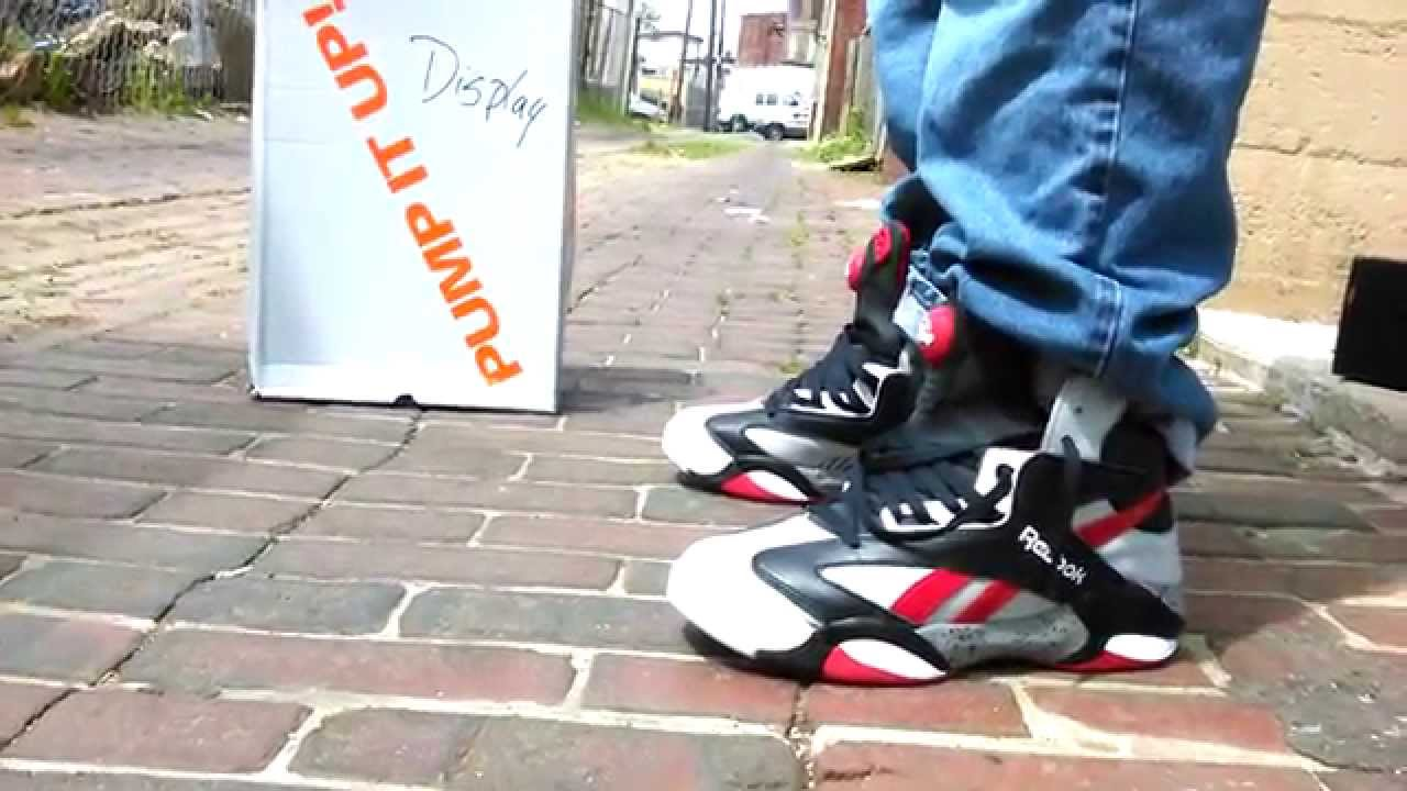 b7e83a7dcf8 Reebok shaq attaq brick city on feet - YouTube