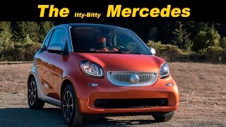 2016 smart fortwo Review and Road Test - In 4K!