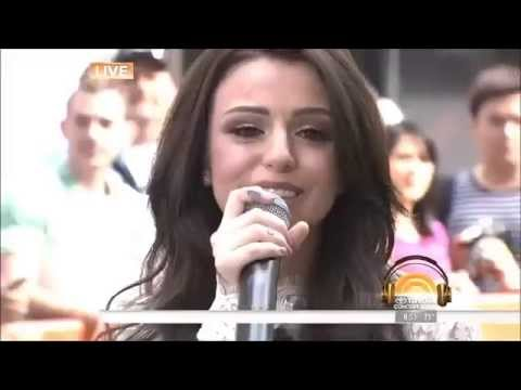 Cher Lloyd BREAKS DOWN singing Sirens at Today Show Concert