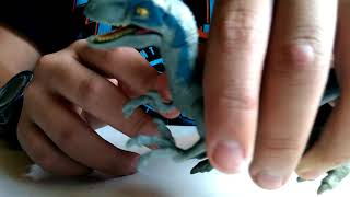 Unboxing, Velociraptor blue- Jurassic world fallen kingdom