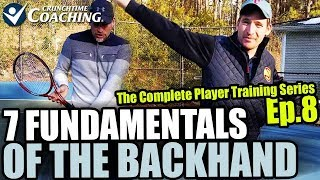 7 Fundamentals of Power on One Hand Backhand