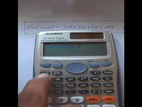 how to clear casio fx 991es