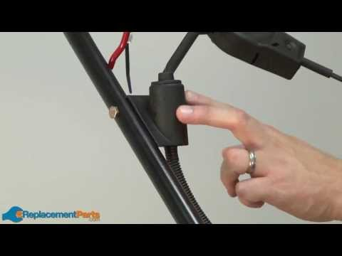 How to Replace the Wiring Harness on a Troy-Bilt TB280ES Lawn Mower Harness Images Wiring B on