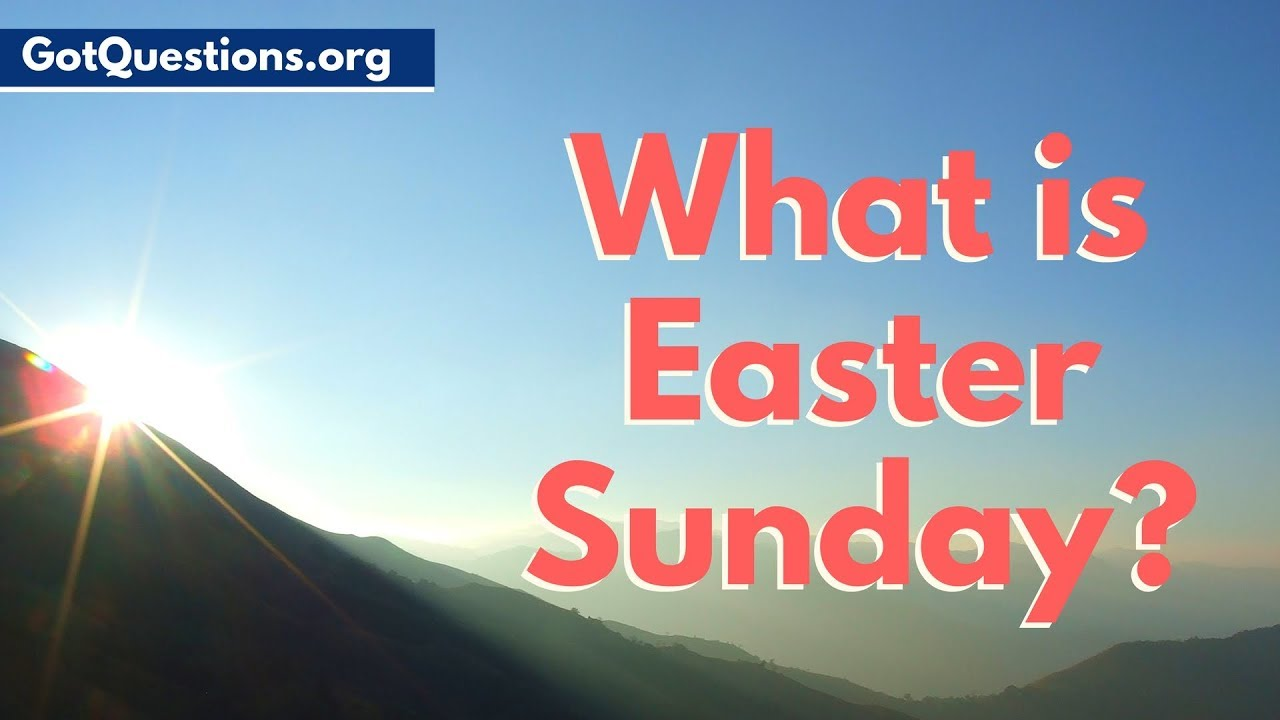 What is Easter Sunday?