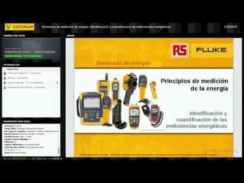 Webinar: Principios de medición de energía por FLUKE y RS Components