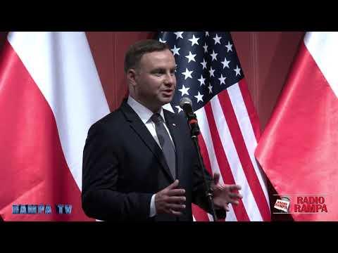 Andrzej Duda cala przemowa do Polonii w New Jersey - Radio RAMPA