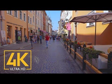 Lviv, Ukraine - Walking Tour in 4K  - Travel Journal