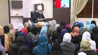 Gulshan-e-Waqfe Nau (Nasirat) Class: 20th November 2010 - Part 5 (Urdu)