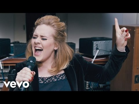 Thumbnail: Adele - When We Were Young (Live at The Church Studios)