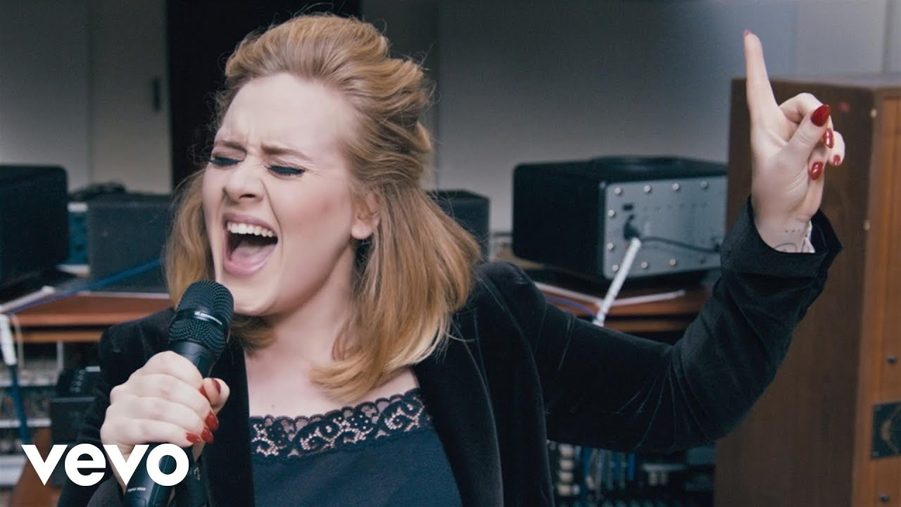 Adele – When We Were Young (Live at The Church Studios)