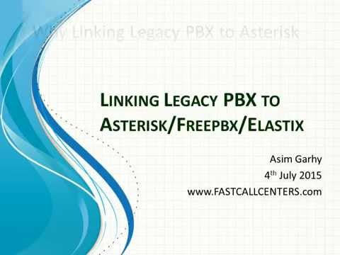 Linking Legacy PBX to Asterisk