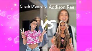 Charli D&#39amelio VS Addison Rae Tik Tok