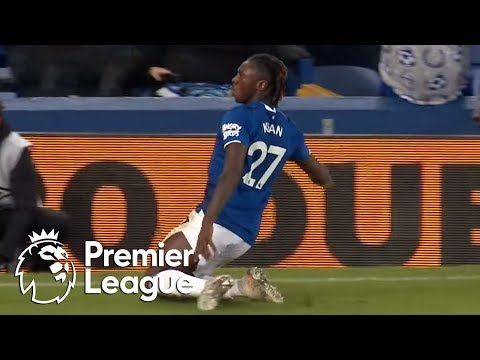 Moise Kean scores his first Everton goal against Newcastle | Premier League | NBC Sports