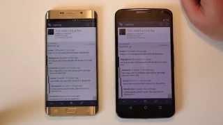 هاتفي سامسونج Galaxy Note 5 و S6 Edge+ أدائهم غير جيد في تعدد المهام