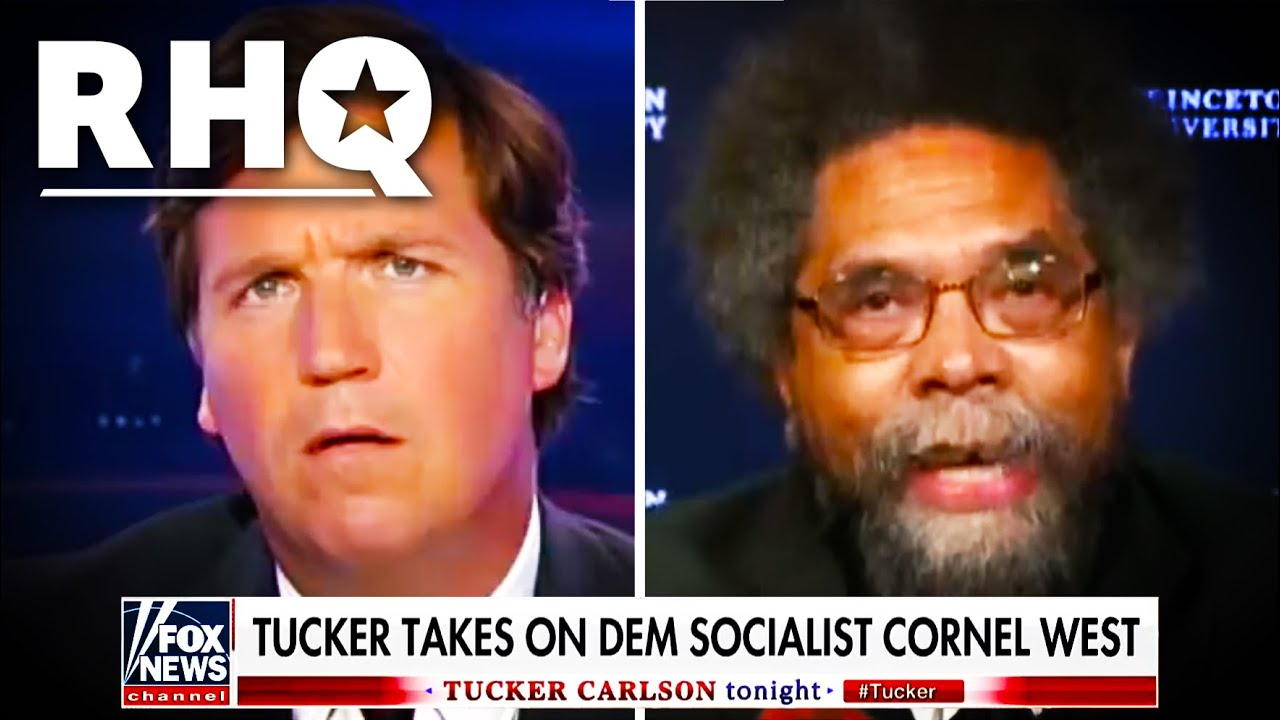 Dr. Cornel West EDUCATES Tucker Carlson In Unearthed Clip