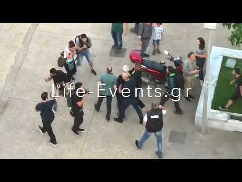 «Ξύλο» στον Γιάννη Μπουτάρη από Πόντιους στο Λευκό Πύργο: Βρισιές, σπρωξιές και χτυπήματα - Δείτε βίντεο
