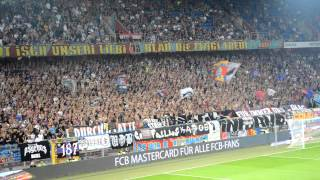 05.08.2015 FC Basel - Lech Poznan (1:0) Support Muttenzerkurve