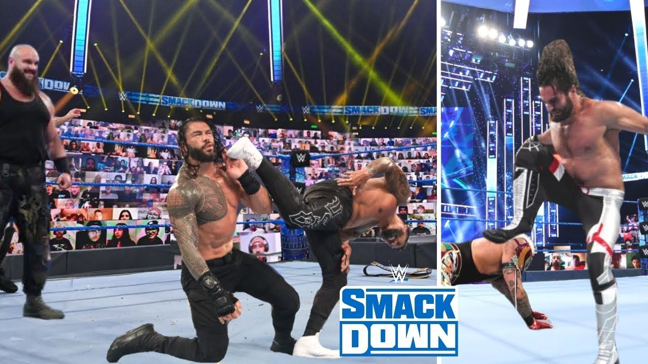 WWE Smackdown 16th October 2020 Highlights Preview - Roman reigns Vs. Braun Strowman Results Winners