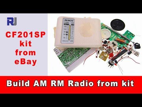 Build AM FM Radio Receiver DIY kit CF210SP