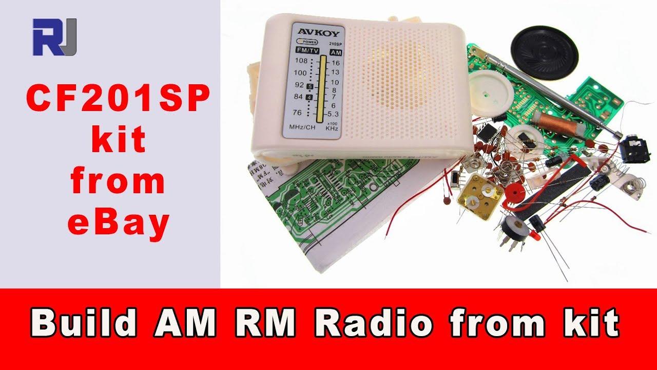 Simple Fm Radio Circuit With Speaker Electronic Projects T Receiver Diagram Tea5710 Design Build Am Diy Kit Cf210sp