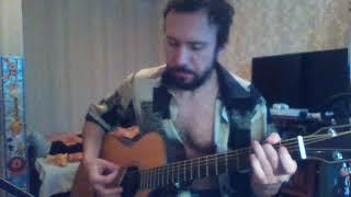 Otherside - RHCP - fingerstyle guitar cover - аранжировка на гитаре от Дяди Вовы видео