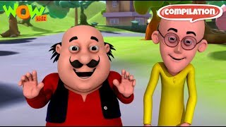 Motu Patlu - 6 episodes in 1 hour | 3D Animation for kids | #41